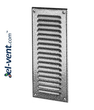 Metal vent cover META12ANSR 125x295 mm