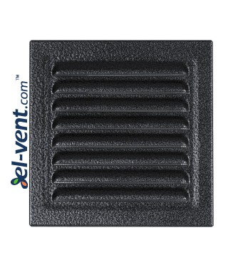 Metal vent cover META6ANSR 195x195 mm