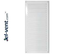 Metal vent cover META12B 125x295 mm