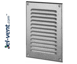 Metal vent cover META4ANSR 165x240 mm