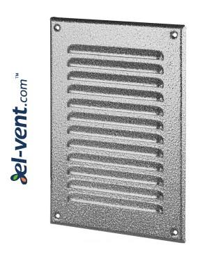 Metalinės ventiliacinės grotelės META4ANSR 165x240 mm