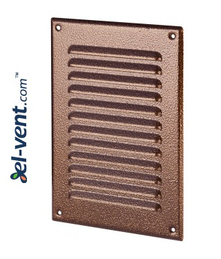 Metal vent cover META4AN 165x240 mm