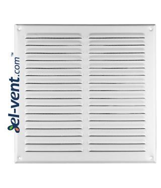 Metalinės ventiliacinės grotelės META10B 295x295 mm