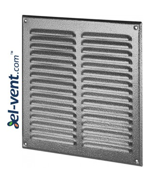 Вентиляционная решетка металлическая META10ANSR 295x295 мм