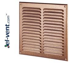 Вентиляционная решетка металлическая META10AN 295x295 мм