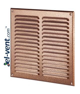 Metalinės ventiliacinės grotelės META10AN 295x295 mm