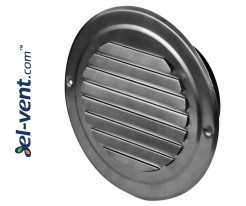 Stainless steel outdoor vent cover CMN100, Ø100 mm