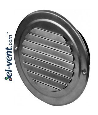 Stainless steel outdoor vent cover CMN125, Ø125 mm