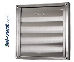 Наружные вентиляционные решетки из нержавеющей стали GLG INOX