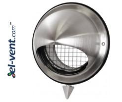 Outdoor vent cover EGL125, Ø125 mm