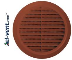 Ventilation grille GRT36CG, Ø100-150/180 mm