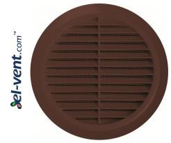 Ventilation grille GRT36BR, Ø100-150/180 mm
