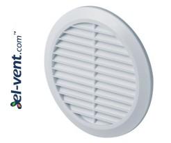 Ventilation grille GRT36, Ø100-150/180 mm