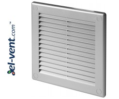 Vent cover GRU2SS, 150x150 mm (grey satin)