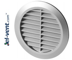 Ventilation grille GRT30SS, Ø100 mm