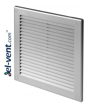 Vent cover 200x200 mm, GRU6SS (grey)