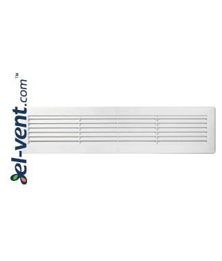 Ventiliacijos grotelės 460x110 mm, GRU26