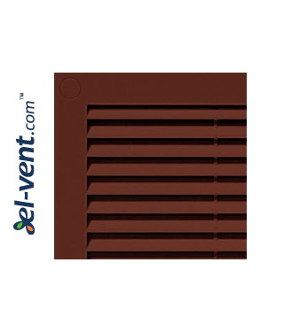 Vent cover 180x250 mm, GRU4BR (brown)