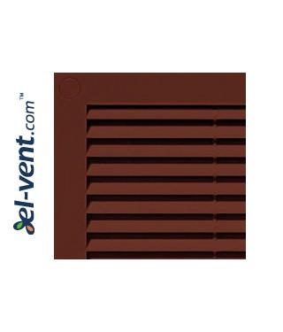 Вентиляционная решетка 180x250 мм, GRU4BR (коричневая)