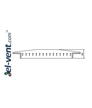 Вентиляционные решетки для воздуховодов SOG - чертеж 1