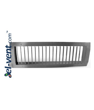 Ventilation grille galvanized SOG825/075, 825x75 mm