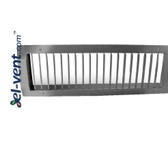 Vent grilles for round ducts