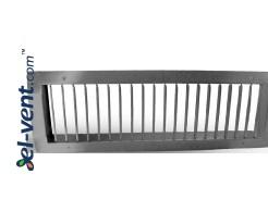 Ventilation grille galvanized SOG425/075, 425x75 mm