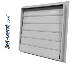 Gravity vent louvers SR2
