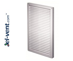 Ventilation grille GRT84, 220x340 mm