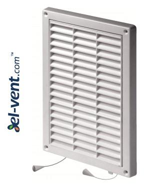 Вентиляционная решетка с заслонкой GRT59A, 235x165 мм