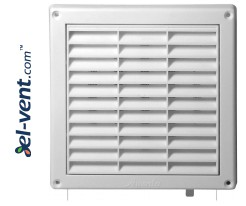 Ventilation grille GRT9A, 165x165 mm