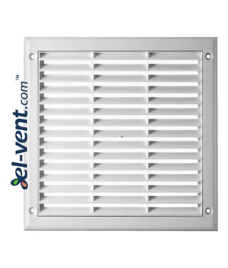 Ventilation grille with shutter GRTK6, 250x250 mm, 2