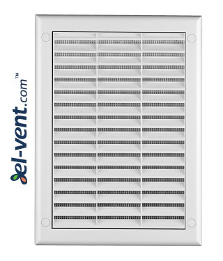 Ventilation grille with shutter GRTK4, 190x260 mm