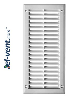 Ventilation grille with shutter GRTK8, 150x310 mm