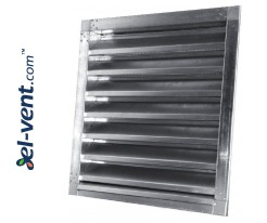 Outdoor vent covers galvanized V-Zn