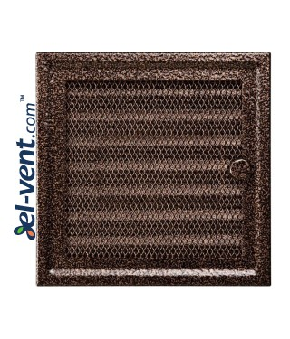 Fireplace grate MK1AN 166x166 mm with shutter