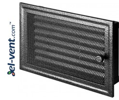 Fireplace grate MK3ANSR 266x166 mm with shutter