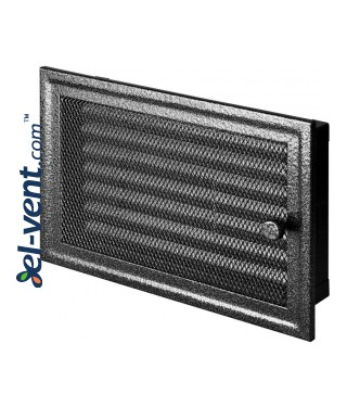 Fireplace grate MK5ANSR 366x166 mm with shutter