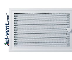 Fireplace grate MK3B 266x166 mm with shutter