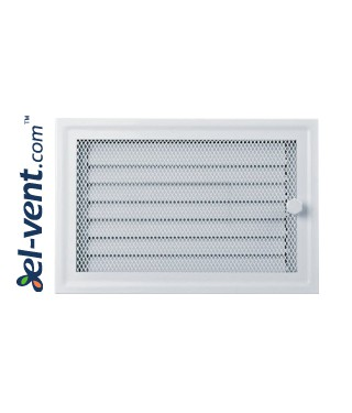 Fireplace grate MK5B 366x166 mm with shutter