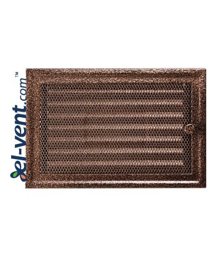 Fireplace grate MK5AN 366x166 mm with shutter
