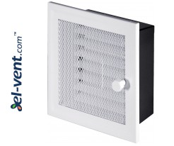 Fireplace grate MK1B 166x166 mm with shutter