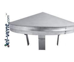 Vent cap VSR140-200 Ø140-200 mm