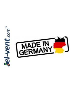 Lauko grotelės EGL125, Ø125 mm - pagaminta Vokietijoje