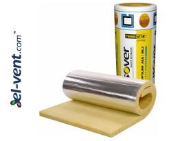 Thermal ductwork insulation ISOVER Ventilam Alu Plus