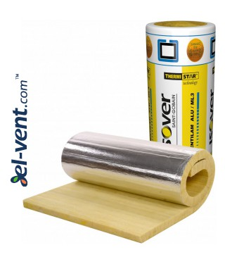 Теплоизоляция для воздуховодов ISOVER Ventilam Alu Plus