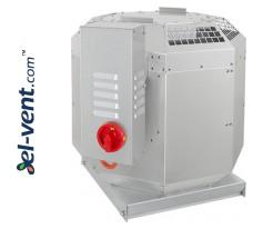 Stoginiai virtuviniai ventiliatoriai ST-DVN E30 ≤8215 m³/h, 120 °C