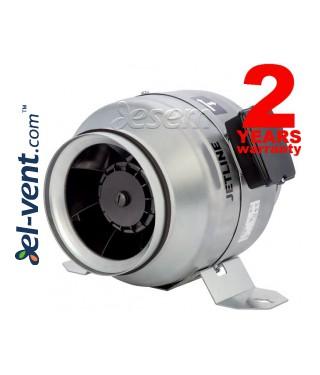Jetline - tylūs ir ekonomiški kanaliniai ventiliatoriai ≤1610 m³/h