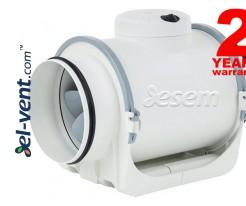 TD EVO ypatingai tylus kanalinis ventiliatorius