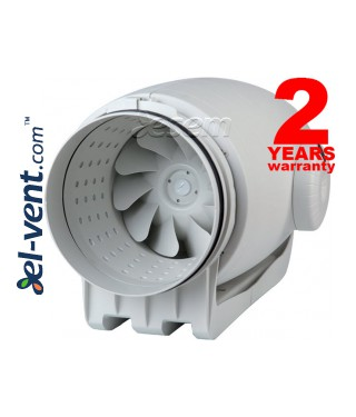 Quiet duct fan TD-250/100 Silent, Ø100 mm